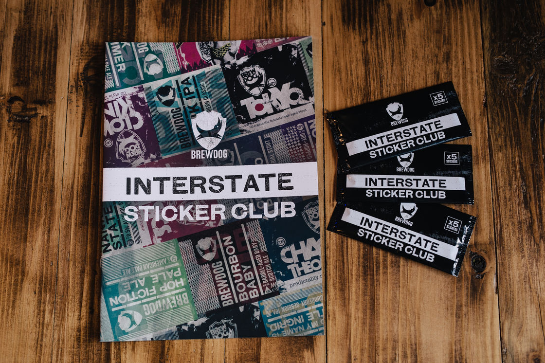 The Interstate Sticker Club USA