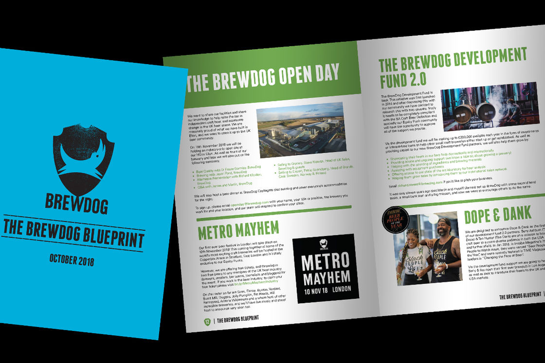 THE BREWDOG BLUEPRINT – UPDATE