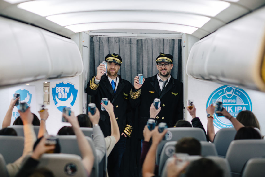 BREWDOG AIRLINES – REFER A FRIEND