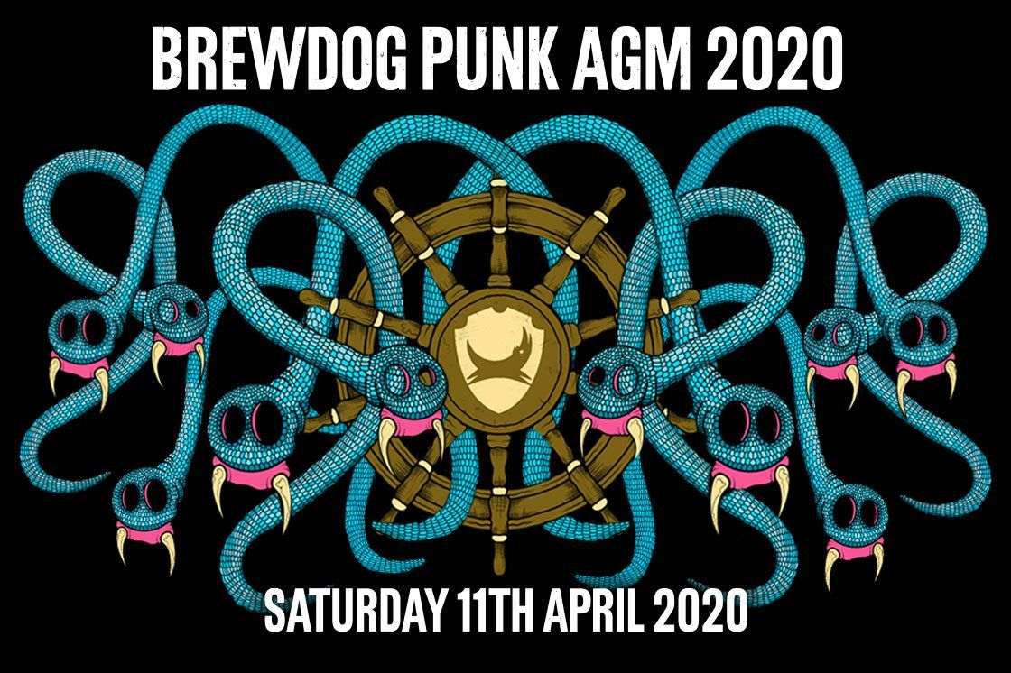 PUNK AGM 2020 - TICKETS ARE LIVE!