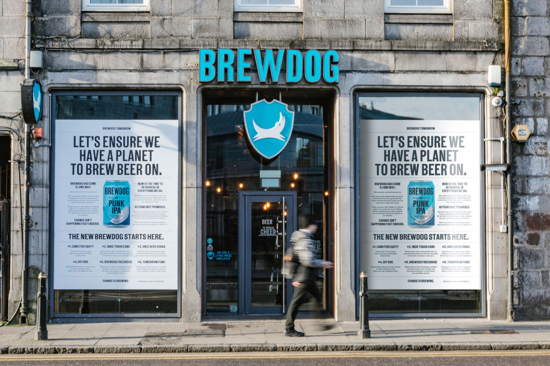 THE NEW BREWDOG STARTS HERE