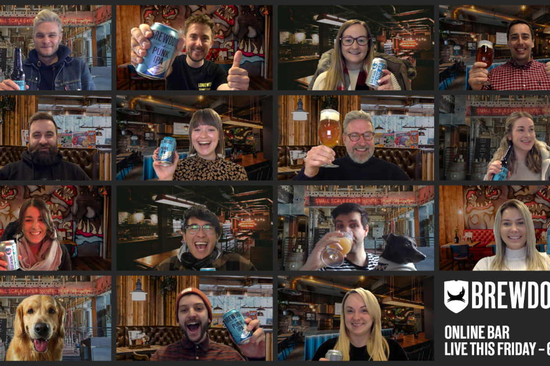 COMING SOON: BREWDOG ONLINE BAR